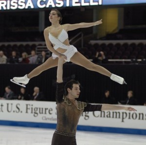 Marissa Castelli and Simon Shnapir