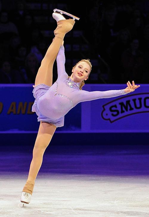 Amber Glenn joins Figure Skaters Online