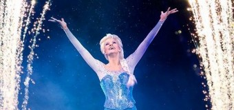 "Becky Bereswill brings ""Elsa"" to life on the ice in Disney on Ice's presents ""Frozen"""