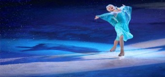 "Alexe Gilles's ""Frozen"" journey with Disney on Ice"