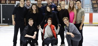 Stars on Ice: Wagner and Rippon balance touring and training