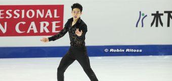 Nathan Chen wins silver medal at Grand Prix Final