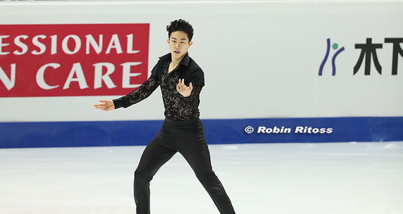 Nathan Chen wins silver medal at Grand Prix Final