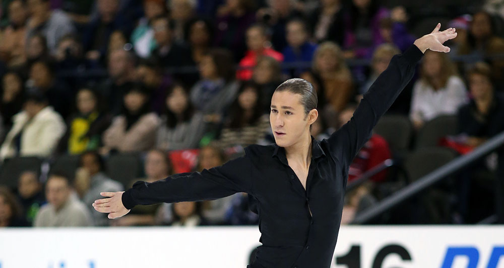 Injured Jason Brown takes on the U.S. Championships