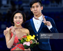 China's Wenjing Sui and Cong Han win gold at Four Continents Championships