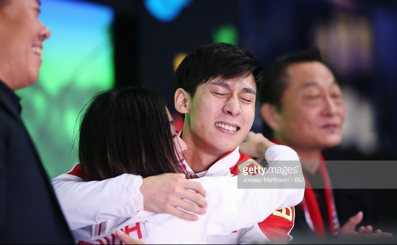 China's Wenjing Sui and Cong Han win first World title