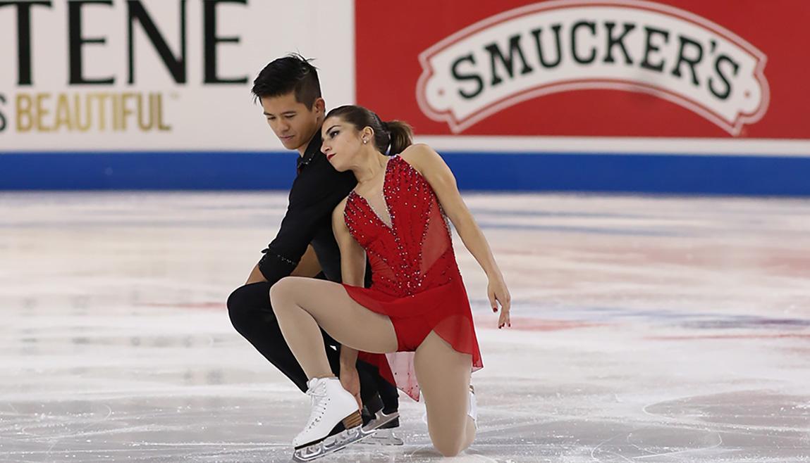 """Marissa Castelli & Mervin Tran: """"We're skating for us"""""""